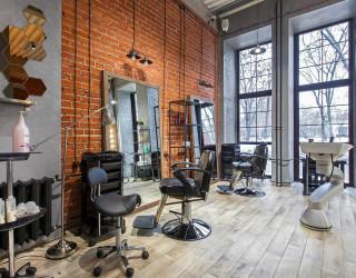 Дизайн салона красоты в стиле «Лофт» от компании «Все Для Салона»