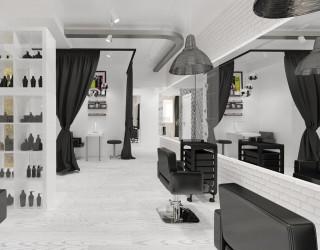 Дизайн парикмахерской, салона