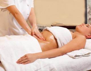 Медовый массаж лица и живота