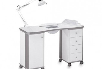 Практичные маникюрные столы – стильные решения