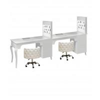 Двойной маникюрный стол 505