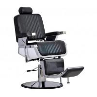 Мужское парикмахерское кресло Nathaniel Черное