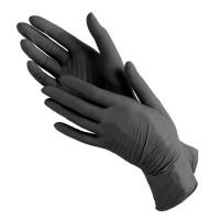 Перчатки NitriMax нитриловые черные 100 шт