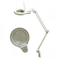 Кольцевая лампа-лупа на струбцине