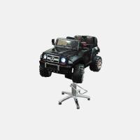 Детское парикмахерское кресло Машинка Мерседес Блэк