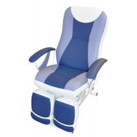 Педикюрное косметологическое кресло Ирина электропривод, 2 мотора