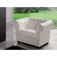Кресло Dupen SF-24-1S White