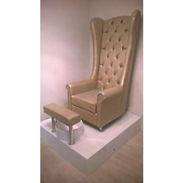 Педикюрное СПА кресло Трон высокий